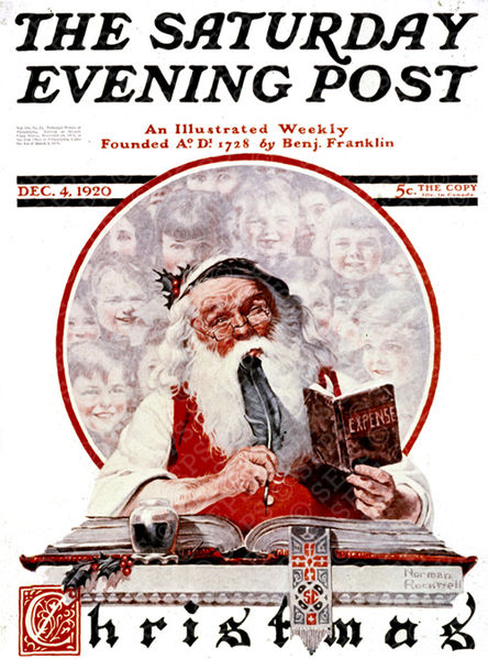 444px-Cover-1920-12-04-Saturday-Evening-Post-Norman-Rockwell-cover-Santa-And-Expense-Book